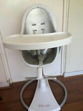 Bloom Fresco highchair - Silver/white Oatley Hurstville Area Preview
