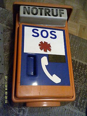 NRT 21 Notruftelefon - orig.Notrufsäule Erste Hilfe Schrank
