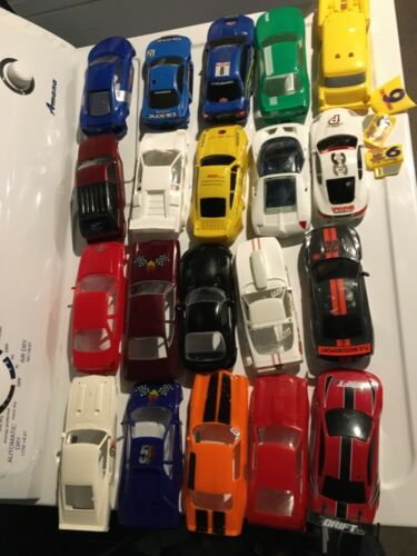 1/25 1/24 scale plastic model kit slot car hard body lot import domestic amt H&R