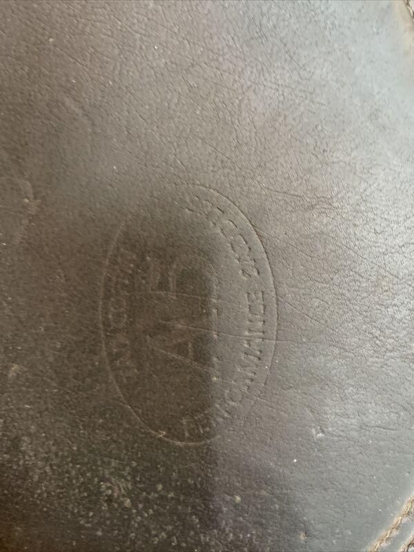 Tad Coffin Leather Half Pad
