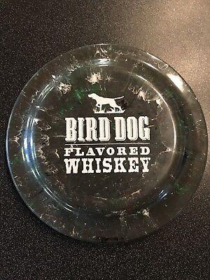 Bird Dog Flavored Whiskey Logo Frisbee Bar Mancave Display