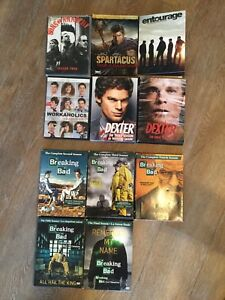 Blue rays, DVDs and tv series
