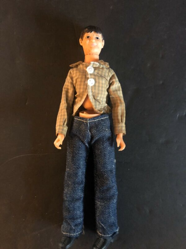 Vintage Doll Boy Western Figure Horse Rider Breyer Animal Creations