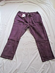 BNWT  Casual Comfort Simply be Purple Cord trousers Size 26