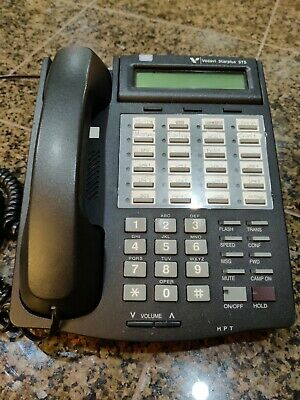 Vodavi 3515-71 Sts Phone Starplus Charcoal Black Used With Cords Tested