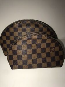 Lv pouches/makeup bags