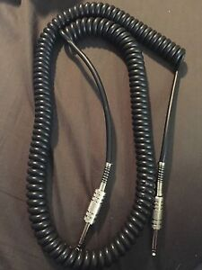 Retro Coil Instrument Guitar Bass Cable Cord