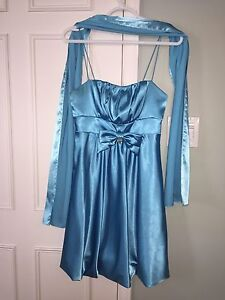 Beautiful Grad dress, made in USA, size XS-S
