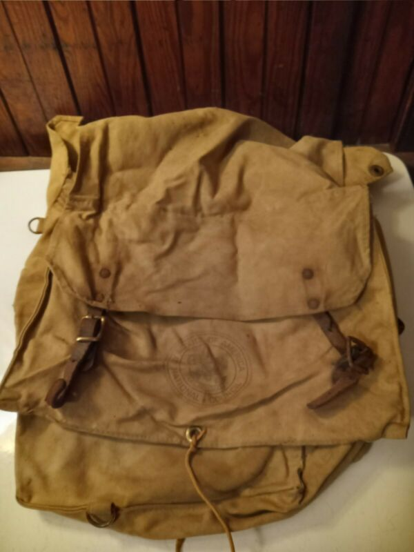 Vtg Boy Scouts of America Diamond Brand Canvas Yucca Pack Backpack