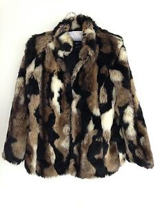 Sportsgirl Faux Fur Jacket Woolooware Sutherland Area Preview