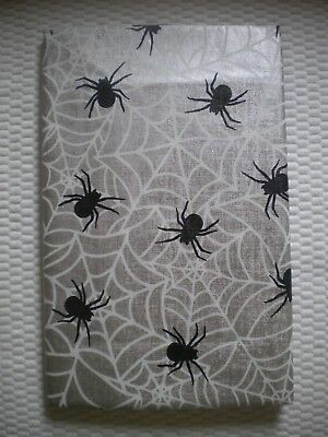 New Mainstream Vinyl Tablecloth Halloween Spider Theme 52