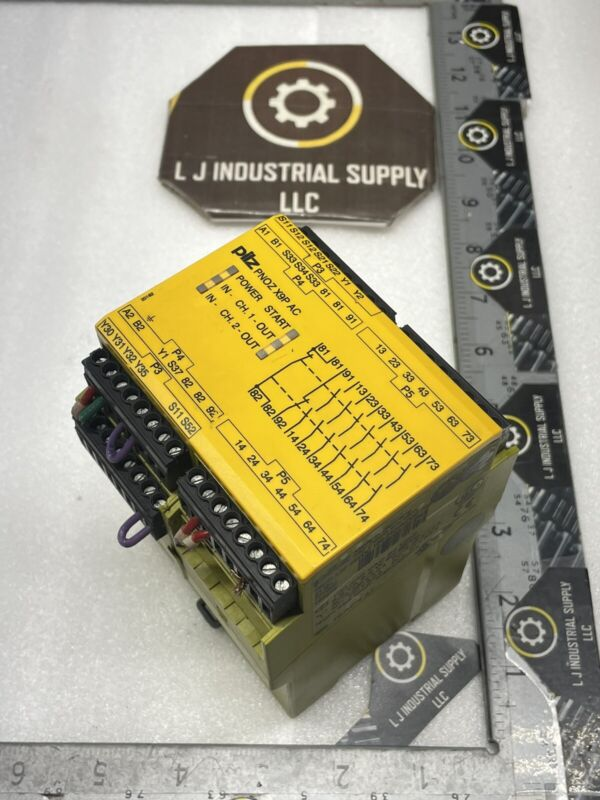 PILZ PNOZ X9P AC Relay_100-240V/24VDC_MULTIPLE IN STOCK_GOOD TAKEOUTS_FAST SHIP!