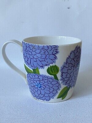Rare Marimekko X Iittala Maija Isola PRIMAVERA Mug Finnish Blue