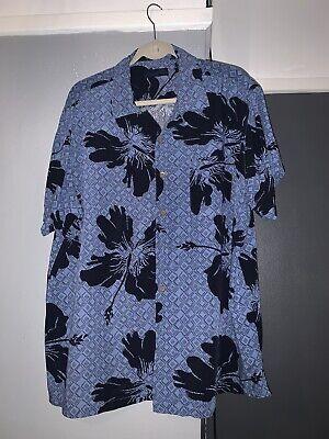 Vintage Milano Bay Hawaiian Shirt Size 2XL