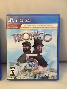 Tropico 5 for PS4-Mint Condition!!!!