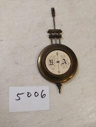 ANTIQUE  GERMAN R/A REGULATOR WALL CLOCK  PENDULUM