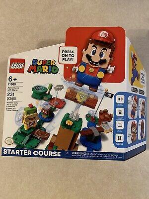 LEGO 71360 SUPER MARIO BROS. ADVENTURES STARTER COURSE BUILDING KIT - IN Hand!