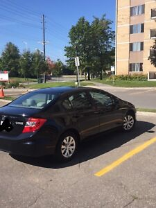 2012 Honda Civic LX Sedan (160000 km Honda Plus warranty)