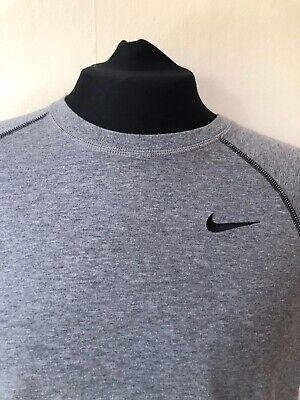 Men's Nike Dri Fit T Shirt Grey Size Medium