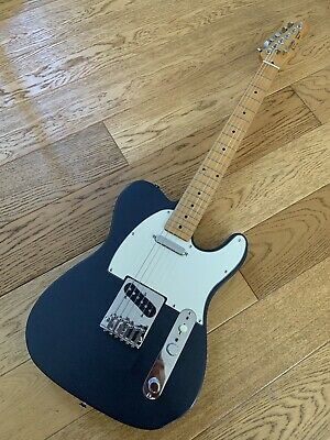 Squier Telecaster - Made In Korea - Grey Metallic Korean Samick 1989 Fender