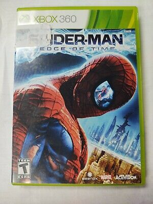 Spider-Man: Edge of Time Xbox 360  tested working CIB  Free Shipping
