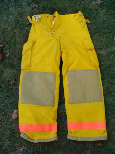ChiefTain Firefighters Pants Trouser Turnout Gear Fireman Size M Inseam 29