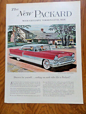 1955 Packard 400 Four Hundred Ad Exclusive Torsion-Level for sale  Tomah