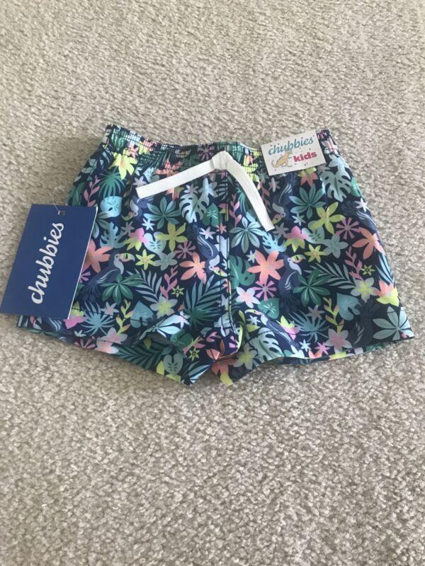 Chubbies Kids Swimsuit. 12-18 Months. Brand New