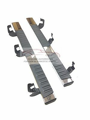 - Tahoe Yukon Escalade Running Boards Step Rails Chrome Set Pair New OEM