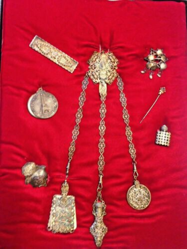 Antique VICTORIAN JEWELRY Collection Lot