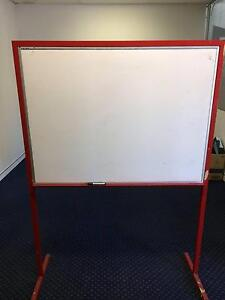 Stand alone white board double sided Balcatta Stirling Area Preview