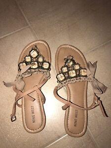 Sandales Nine West 65$ taille 8