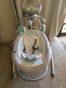 Ingenuity Baby Swing elephant
