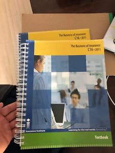CIP Textbook- Business of Insurance