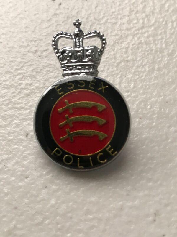 Essex England Police Helmet Cap Piece British Constabulary Constable