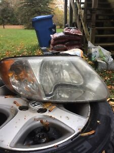 07 caravan headlights