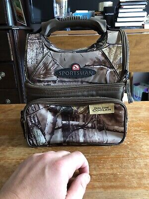 Igloo Sportsman Cooler Real Tree Camo Dual Zone Insulated Cooler LN-New Conditio