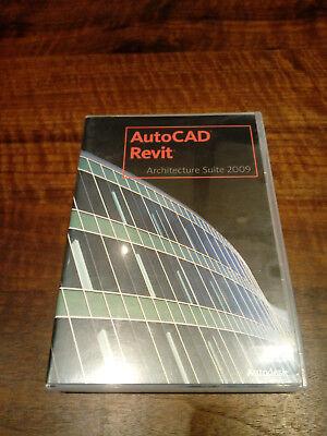 Autodesk AutoCAD  Revit Architecture Suite RAC S  2009  DVD UG REVITS
