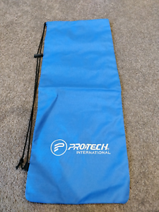 Cloth Racket Bag Blue to fit 3 rackets Phillip Woden Valley Preview