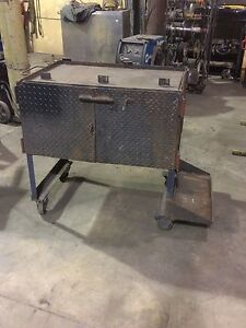 Welding stand/bottle rack/ toolbox