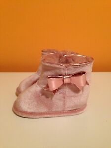 Brand new pink ALDO baby boots