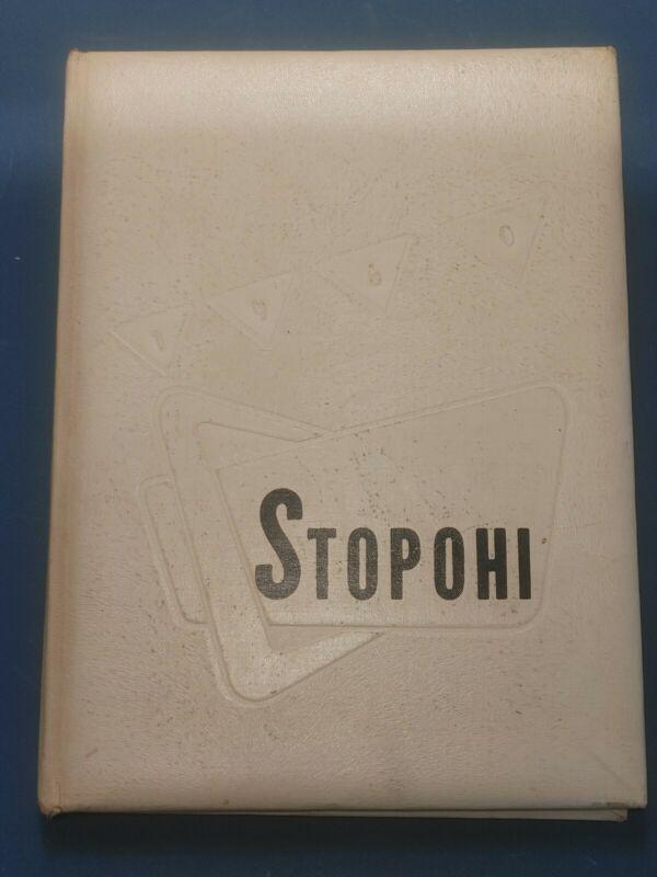 1960 Stopohi Stony High School YearBook Stony Point, North Carolina