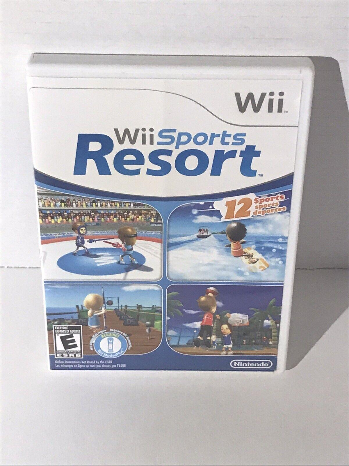 Wii Sports Resort (Wii, 2009) Case Only