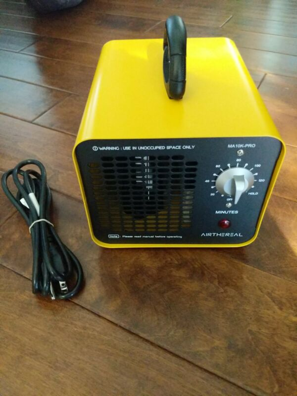 Airthereal MA10K-PRO Industrial Ozone Generator - Yellow OPEN BOX Ships FREE