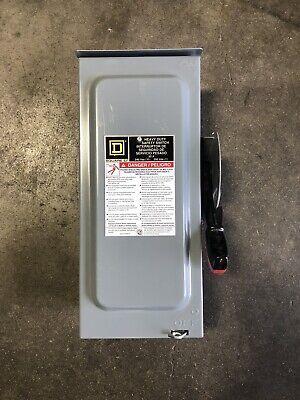 Square D H321nrb 30a 240v 3ph Nema 3r Fused Safety Switch 1236