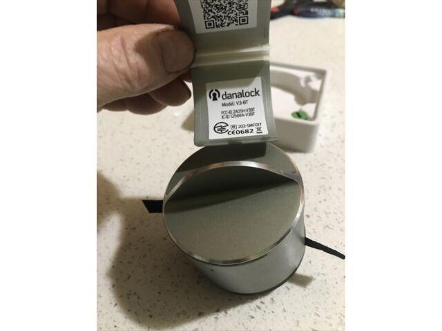 Gently Used Danalock V3 Bluetooth Version Wireless Smart Lock