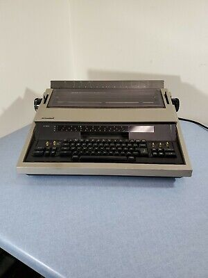 Panasonic Electric Typewriter Kx-e603 Complete. Tested. Ribbon Is Empty.