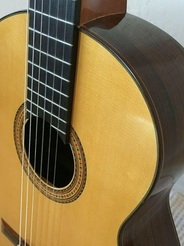 Brune Concert Classic Guitar -- Spruce Top