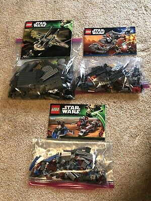 LEGO Star Wars Lot Sets 75024 7957 75012 *NO MINIFIGURES*