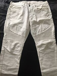All White True Religion Brands Jeans